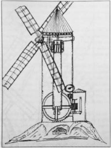 Molino de eje vertical